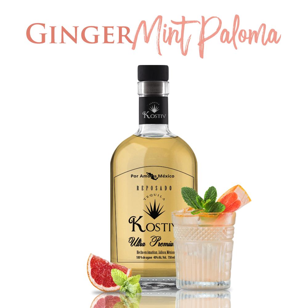 Ginger Mint Paloma